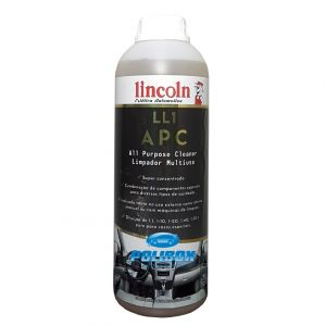 LL1 APC All Purpose Cleaner - Limpador Multiuso Lincoln (2 Litros)