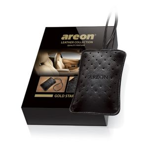 Areon Aromatizante Leather Collection Gold Star