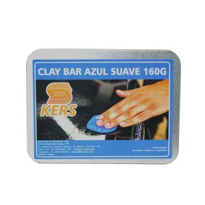 Clay Bar Azul Suave Kers (160g)