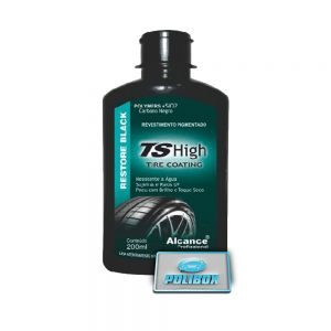 TS High Tire Coating (Revestimento p/ pneus Pigmentado) 200ml