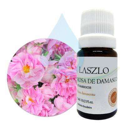 Óleo Essencial de Rosa de Damasco  - GT Marrocos -  Laszlo - 5 ml