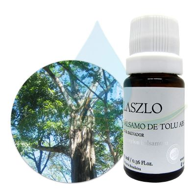 Absoluto de Bálsamo do Tolu  -  GT El Salvador - Laszlo - 10,1ml