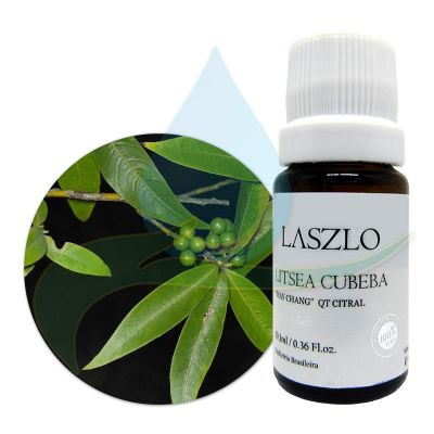 Óleo Essencial de Litsea Cubeba - May Chang - QT Citral -  Laszlo - 10,1ml