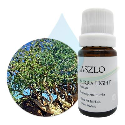 Óleo Essencial de Mirra Light - GT Kenia  -  Laszlo - 10,1ml