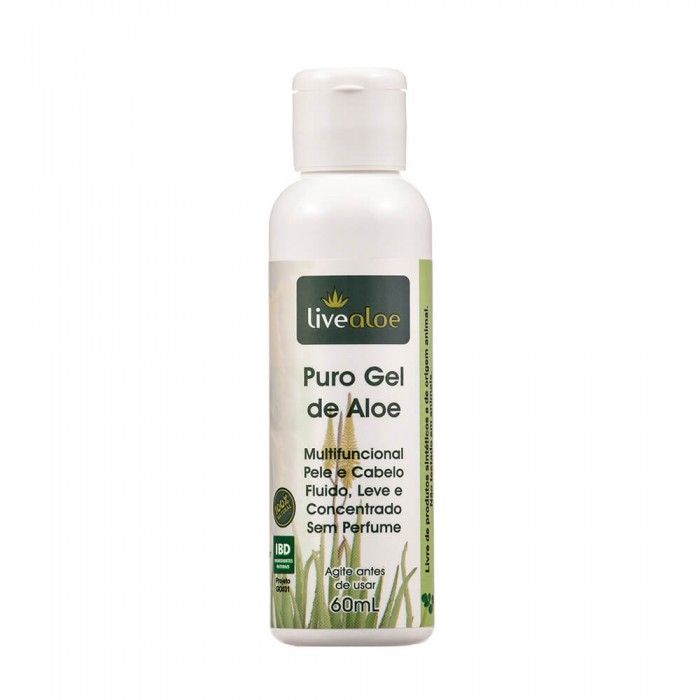 Puro Gel de Aloe - Livealoe - 60ml