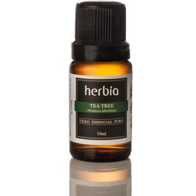 Óleo Essencial de Tea Tree (Melaleuca alternifolia) - Herbia - 10ml