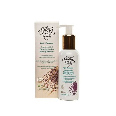 Loção Demaquilante e de Limpeza Natural Vegana - Glory by Nature - 110 ml