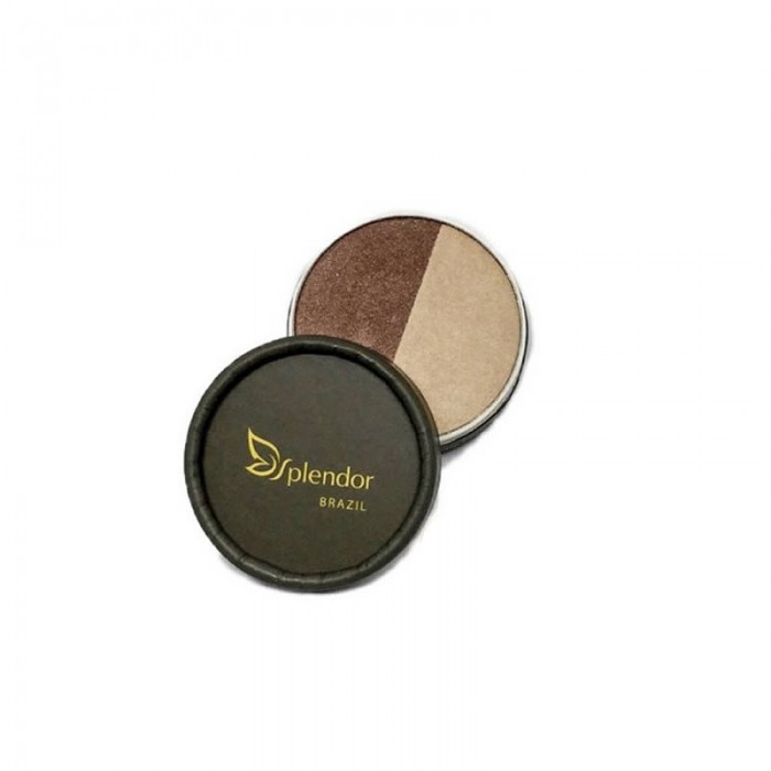Duo de Sombras Natural e Vegano Sands of Time - Splendor -  3,5gr