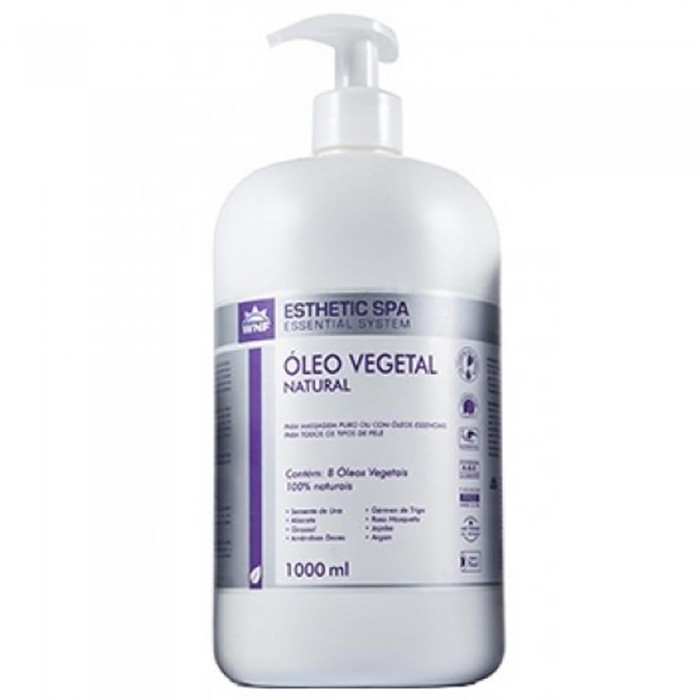 Óleo Vegetal Natural Esthetic Spa (Base para massagem)  - WNF - 1l