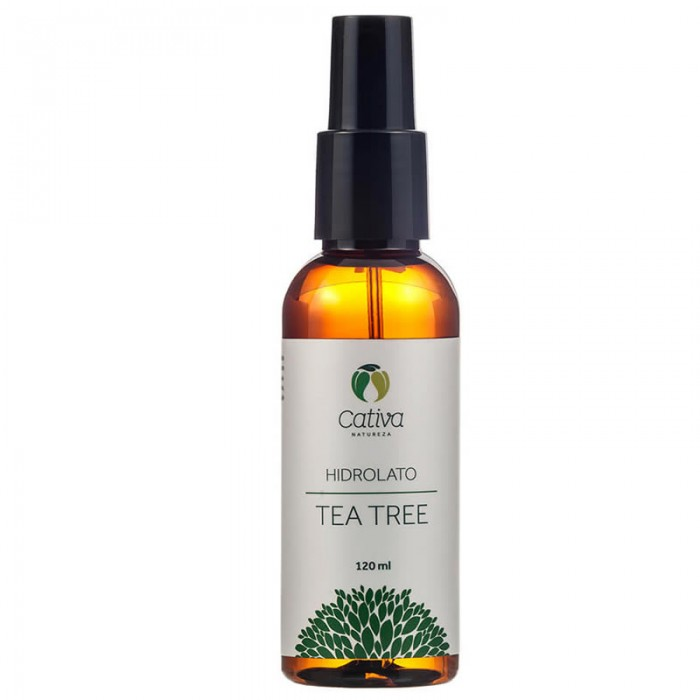 Hidrolato de Tea Tree Organico Natural Vegano - Cativa Natureza - 120ml