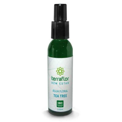 Água Floral de Tea Tree - Terra Flor - 120ml