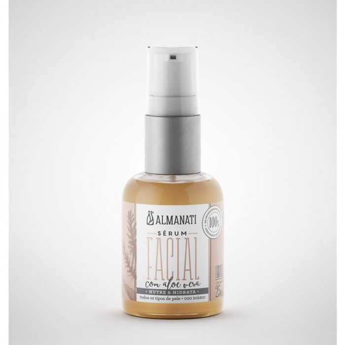 Serum Facial com Aloe Vera - Almanati 25ml