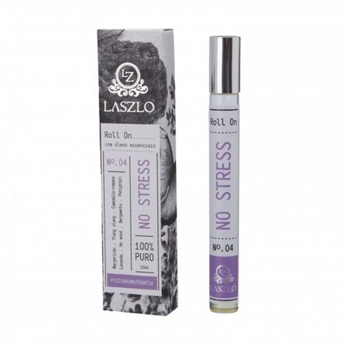 Sinergia Roll-on - No Stress  - Laszlo 10ml