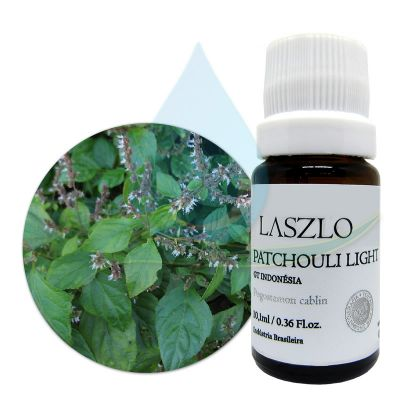 Óleo Essencial de Patchouli Light - GT Indonésia -  Laszlo -  10,1ml