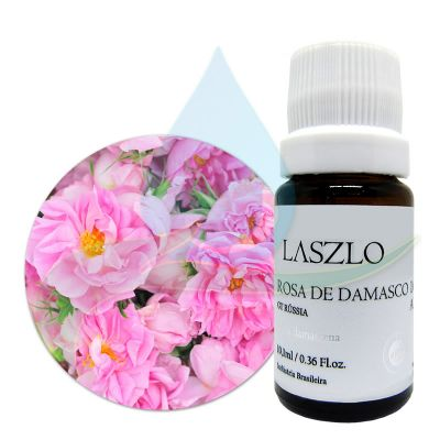 Absoluto de Rosa de Damasco 10% - GT Rússia - Laszlo - 10,1ml