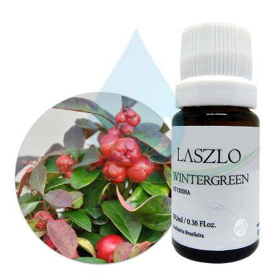 Óleo Essencial de Wintergreen - GT China - Laszlo - 10,1ml