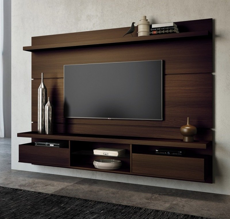 Home theater suspenso livin 2 2 hb m veis bym veis - Led panel designs furniture living room ...