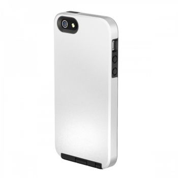 Capa IMPACTO DUO da Intelimix para Apple iPhone 5 / 5s - COR BRANCA