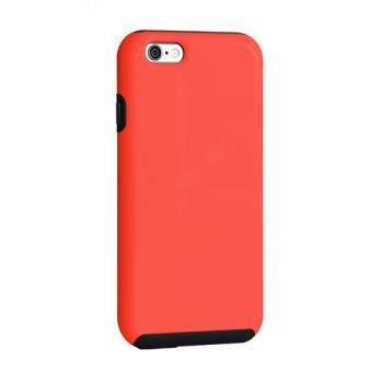 Capa IMPACTO DUO da Intelimix para Apple iPhone 6 / 6s - COR CORAL