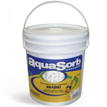 Refil AQUA-SORB para secador Air Point  - Balde com 3 kilos aquasorb - Metalplan