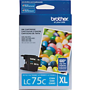 Cartucho Brother LC75C-XL Ciano Original