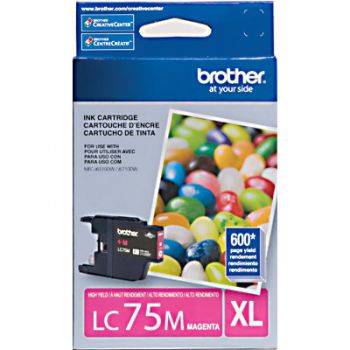 Cartucho Brother LC75M-XL Magenta Original