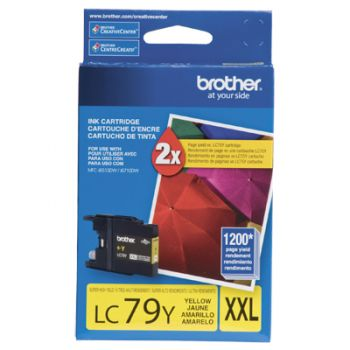 Cartucho Brother LC79Y-XXL Amarelo Original