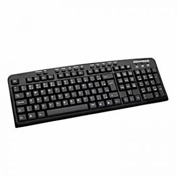 Teclado Multimídia PS-2 Preto