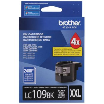Cartucho Brother LC109BK-XXL Preto Original