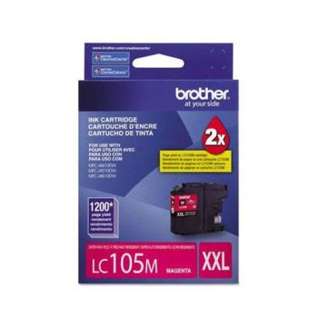 Cartucho Brother LC105M-XXL Magenta Original