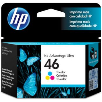 Cartucho Hp 46 Color CZ638AL Original