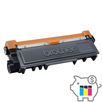 Recarga Toner Brother TN-2370 - TN-660 Preto 2,6K