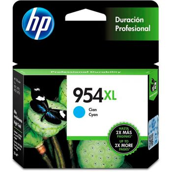Cartucho Hp 954XL Ciano L0S62AB Original
