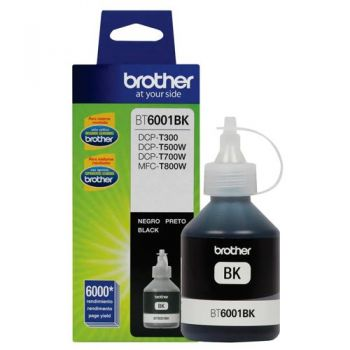 Refil de Tinta Brother 6001 Preto BT6001P Original