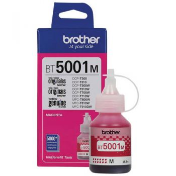 Refil de Tinta Brother 5001 Magenta BT5001M Original