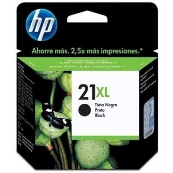 Cartucho Hp 21XL Preto C9351CB Original  - foto 1