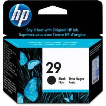 Cartucho Hp 29 Preto 51629A Original