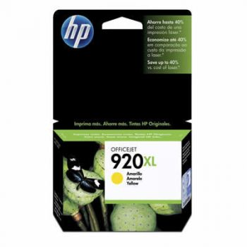 Cartucho Hp 920XL Amarelo CD974AL Original