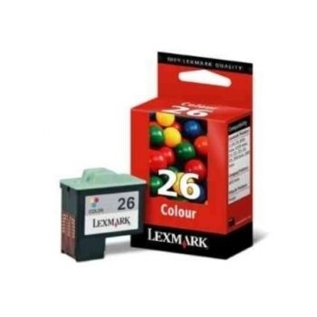 Cartucho Lexmark 26 Color 10N0026 Original