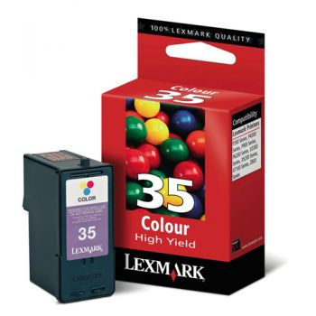 Cartucho Lexmark 35 Color 18C0035 Original