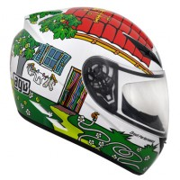 CAPACETE AGV K-3 VALENTINOS HOUSE