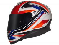 CAPACETE MT THUNDER 3 SP-R WHITE/RED