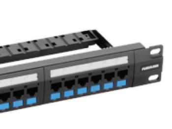 Patch Panel Multilan Cat.5e 24 Posições T568A/B - Furukawa  - foto 4