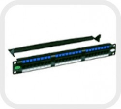 Patch Panel Multilan Cat.5e 24 Posições T568A/B - Furukawa  - foto principal 1