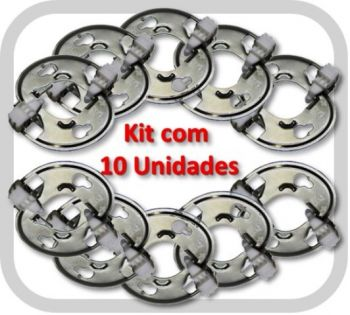 Conector Holder Chip-Lok para LED COB Citizen CLU04X / Lumileds 1211/1216 - Kit com 10 Unidades