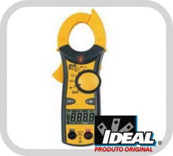 Alicate Amperímetro Digital 400 ACA Clamp Meter WNCV CAT III 600V - Ideal Industries