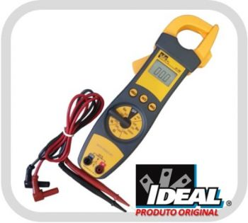Alicate Multímetro 200A CAT III - 600V Clamp Meter - Ideal Industries