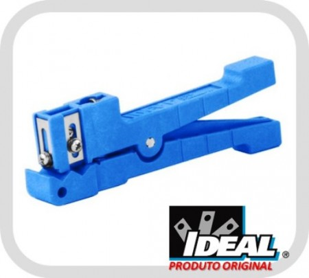 Decapador Ringer Shielded 45-163 para Tubo-Lose 3,2mm e 5,6mm (Azul) - Ideal Industries  - foto principal 1