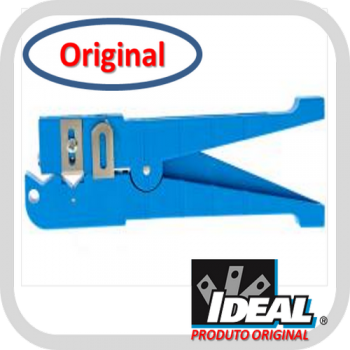 Decapador Ringer Shielded 45-164 para Cabos entre 6,4 e 14,3mm (Azul) - Ideal Industries