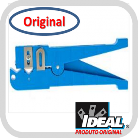 Decapador Ringer Shielded 45-164 para Cabos entre 6,4 e 14,3mm (Azul) - Ideal Industries  - foto principal 1
